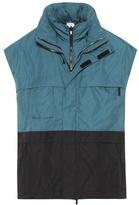 Vetements Oversized layered vest