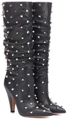 Valentino Garavani Rockstud leather boots