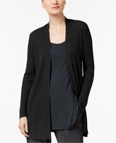 Eileen Fisher Open-Front Cardigan, Regular & Petite