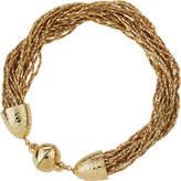 Lydell NYC Braided Multi-Strand Chain Bracelet