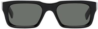 RetroSuperFuture Black Augusto Rectangle Sunglasses