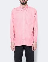 Gitman Brothers Oversized Blush Poplin Shirt