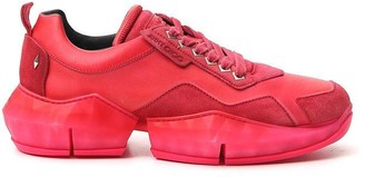 Jimmy Choo Diamond Chunky Sole Sneakers