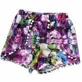 QIYUN.Z New Women Summer Hot Short Pants Beach Holiday Elastic Waist Short Pants Short