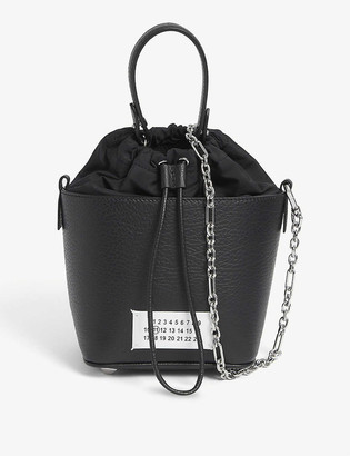 Maison Margiela Mini Leather Bucket Bag