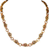 One Kings Lane Vintage Two-Tone Victorian Gold-Filled Bookchain