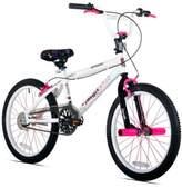 Kent Razor Angel 20-Inch Girl's Bicycle in White