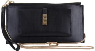 Most Wanted Design by Carlos Souza Leather Convertible Crossbody Bag