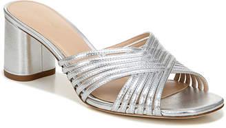 Via Spiga Rafaela Metallic Mule Sandals