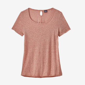 Patagonia Mellow Melon Womens Mount Airy Scoop T Shirt - small