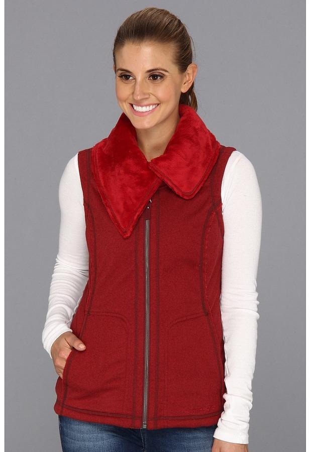 Exofficio Persian Fleece Vest (Cordovan) - Apparel