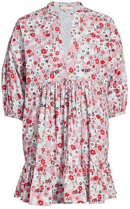 By Ti Mo Floral Babydoll Dress