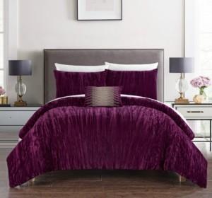 Chic Home Westmont 4-Piece Queen Comforter Set Bedding