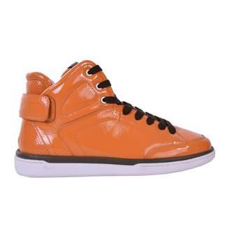 Dolce & Gabbana Orange Patent leather Trainers