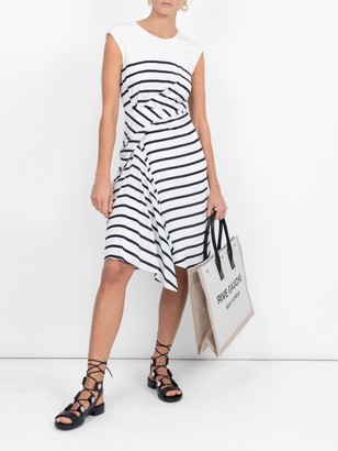 Sies Marjan Striped Midi Dress