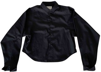 Noir Kei Ninomiya Black Cotton Top for Women