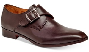 Carlos by Carlos Santana Men's Freedom Single Monk-Strap Loafers Men's Shoes