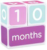 Pearhead 3-Piece Milestone Block Set in Pink