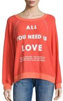 Wildfox Couture List of Demands Sweatshirt