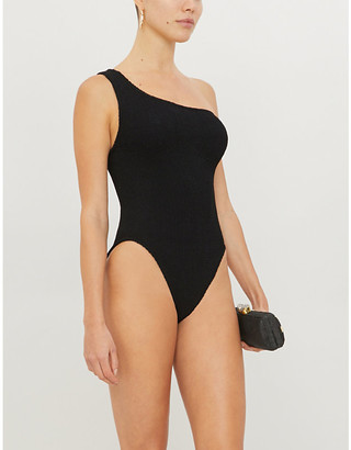 Hunza G Nancy one-shoulder swimsuit