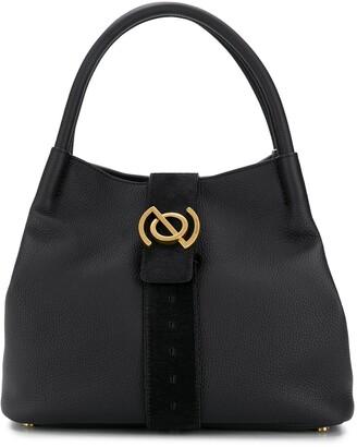 Zanellato Logo Plaque Shoulder Bag