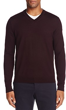 The Men's Store at Bloomingdale's V-Neck Merino Sweater - 100% Exclusive
