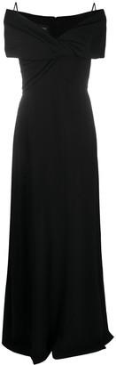 Giambattista Valli Cold-Shoulder Gown