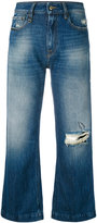 Cycle distressed cropped jeans - women - Cotton - 26