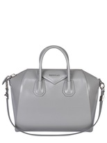 Medium Antigona Shiny Smooth Leather Bag