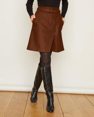 Jigsaw Melton Belted Skirt