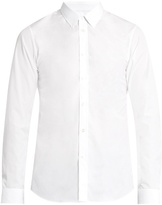 Jil Sander Point-collar Cotton-poplin Shirt
