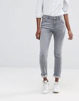 Asos Kimmi Shrunken Boyfriend Jeans in Des Torres Gray