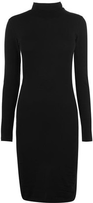 JDY De Yong Ava Turtleneck Midi Dress