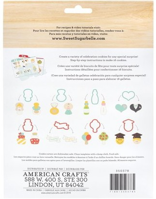 American Crafts Sweet Sugarbelle Cookie Cutter Set 8/Pkg-Shape Shifter - Life Events