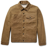 Filson Short Lined Cruiser Water-repellent Cotton Tin Cloth Jacket - Tan