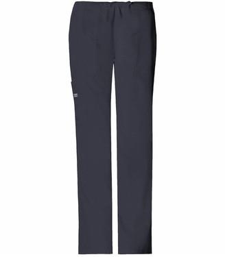 Cherokee Women's Plus-Size Workwear Scrubs Core Stretch Drawstring Cargo Pant (Size 2X-5X)
