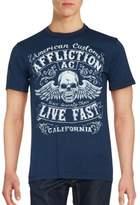Affliction Solid Cotton T-Shirt