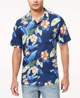 Tommy Bahama Men's Hibiscus Tropics Floral-Print Silk Shirt, Created for Macy's