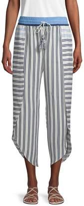 Equipment Sandra Striped Layer Pants