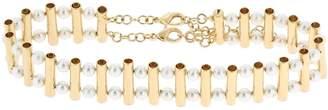 Rosantica Saggezza Choker W/ Imitation Pearls