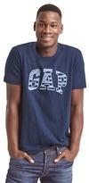 Gap Flag logo crewneck tee
