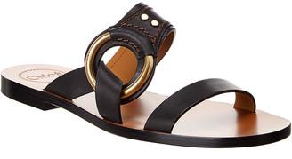 Chloé Demi Leather Sandal