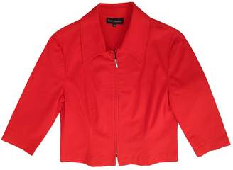 Tara Jarmon Red Cotton Jacket for Women