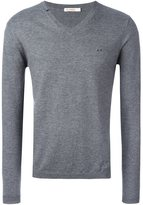 Sun 68 neck contrast jumper - men - Cotton/Wool - S