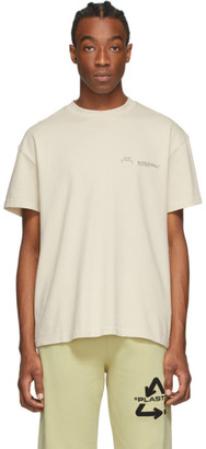 A-Cold-Wall* A Cold Wall* Beige Logo T-Shirt