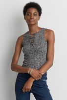 American Eagle Outfitters AE Soft & Sexy Lace-Up Tank