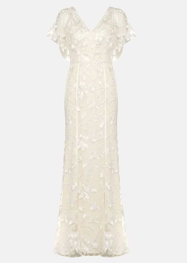 Thumbnail for your product : Phase Eight Layla Lace Wedding Dress