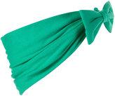 Green Jersey Bow Headband