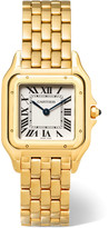Cartier Panthère De Medium 18-karat Gold Watch - one size