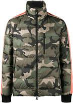 Valentino camouflage padded coat